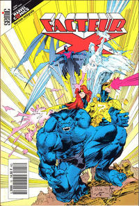 Cover Thumbnail for Facteur X (Semic S.A., 1989 series) #18