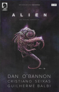 Cover Thumbnail for Alien: The Original Screenplay (Dark Horse, 2020 series) #3 [Guilherme Balbi Cover]