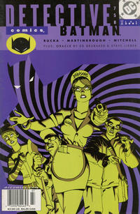 Cover Thumbnail for Detective Comics (DC, 1937 series) #758 [Newsstand]