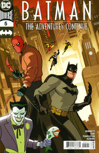 Cover Thumbnail for Batman: The Adventures Continue (DC, 2020 series) #5