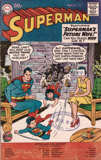 Cover Thumbnail for Superman, South East Asia Edition (Chronicle Publications, 1959 ? series) #15