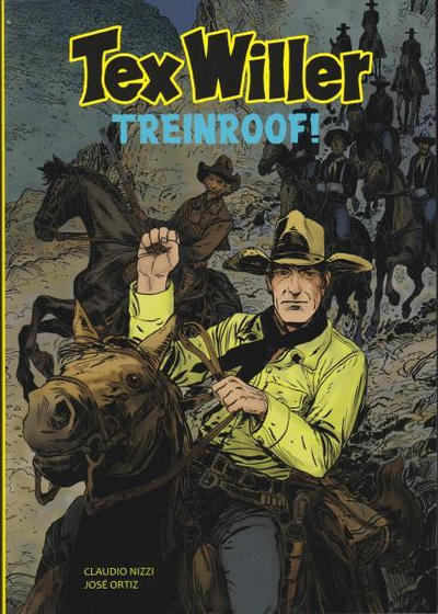 Cover for Tex Willer (HUM!, 2014 series) #3 - Treinroof!