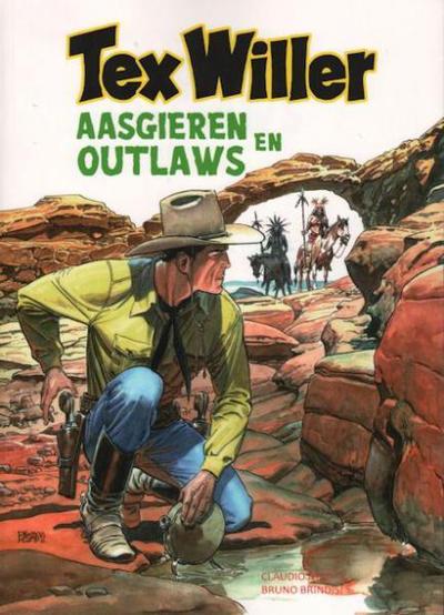 Cover for Tex Willer (HUM!, 2014 series) #4 - Aasgieren en outlaws