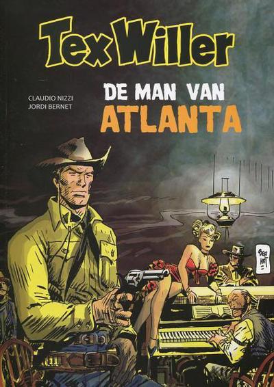 Cover for Tex Willer (HUM!, 2014 series) #7 - De man van Atlanta