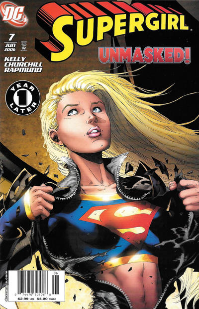 Cover for Supergirl (DC, 2005 series) #7