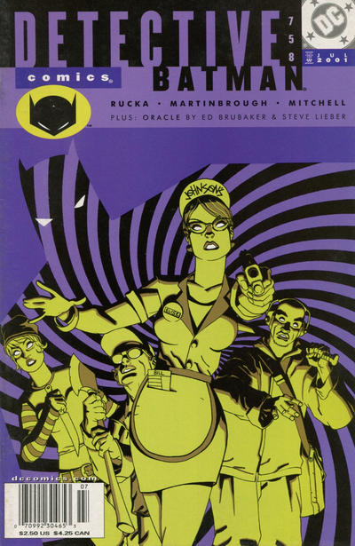 Cover for Detective Comics (DC, 1937 series) #758 [Direct Sales]
