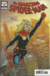 Cover Thumbnail for Amazing Spider-Man (2018 series) #16 (817) [Variant Edition - Captain Marvel - Mike Hawthorne Cover]