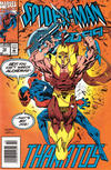Cover for Spider-Man 2099 (Marvel, 1992 series) #12 [Newsstand]