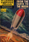 Cover for Classics Illustrated (Gilberton, 1947 series) #105 [HRN 141] - From the Earth to the Moon