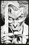 Cover Thumbnail for Batman: Three Jokers (2020 series) #1 [Jason Fabok Black and White Joker Crowbar Variant Cover]