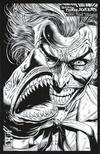 Cover Thumbnail for Batman: Three Jokers (2020 series) #1 [Jason Fabok Second Printing Black and White Joker Shark Variant Cover]