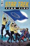 Cover Thumbnail for Star Trek: Year Five (2019 series) #15 [Regular Cover]