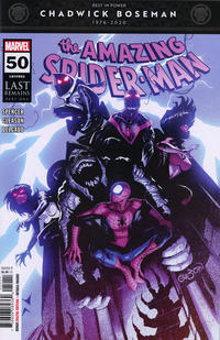 Cover for Amazing Spider-Man (Marvel, 2018 series) #50 (851)