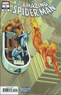 Cover Thumbnail for Amazing Spider-Man (Marvel, 2018 series) #4 (805) [Variant Edition - Return of the Fantastic Four - Chris Sprouse Cover]