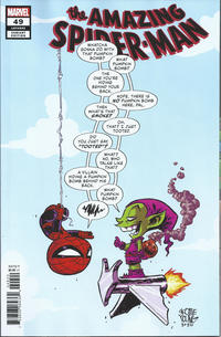 Cover Thumbnail for Amazing Spider-Man (Marvel, 2018 series) #49 (850) [Variant Edition - Marvel Babies - Skottie Young Cover]