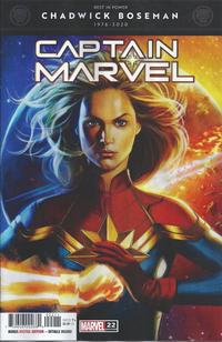 Cover Thumbnail for Captain Marvel (Marvel, 2019 series) #22 (156)