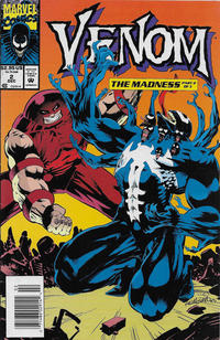 Cover for Venom: The Madness (Marvel, 1993 series) #2
