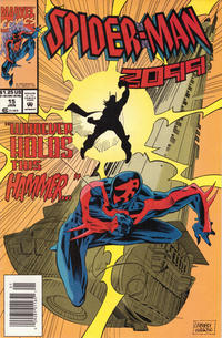 Cover Thumbnail for Spider-Man 2099 (Marvel, 1992 series) #15 [Newsstand]