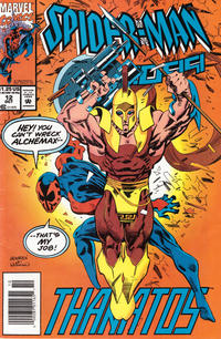 Cover Thumbnail for Spider-Man 2099 (Marvel, 1992 series) #12 [Newsstand]