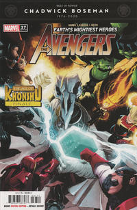 Cover Thumbnail for Avengers (Marvel, 2018 series) #37 (737)