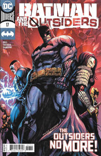 Cover Thumbnail for Batman and the Outsiders (DC, 2019 series) #17