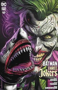 Cover Thumbnail for Batman: Three Jokers (DC, 2020 series) #1 [Jason Fabok Second Printing Joker Shark Variant Cover]