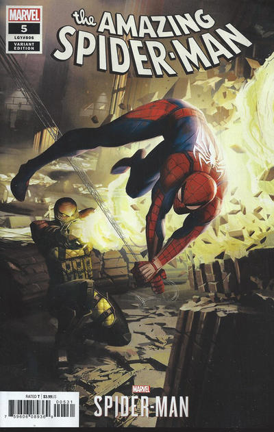 Cover for Amazing Spider-Man (Marvel, 2018 series) #5 (806) [Variant Edition - Unknown Comics Exclusive - Philip Tan Virgin Cover]