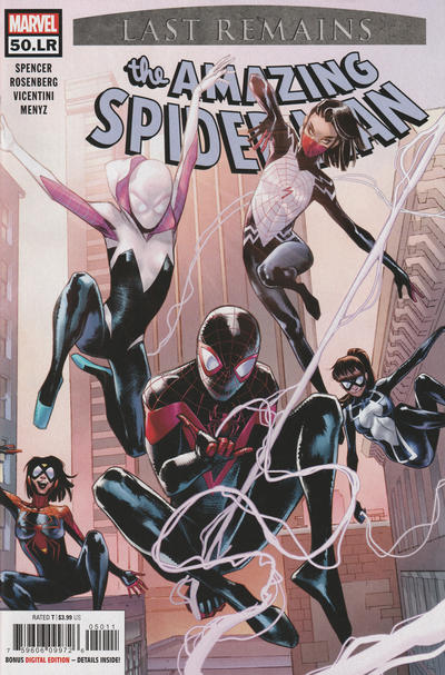 Cover for Amazing Spider-Man (Marvel, 2018 series) #50.LR