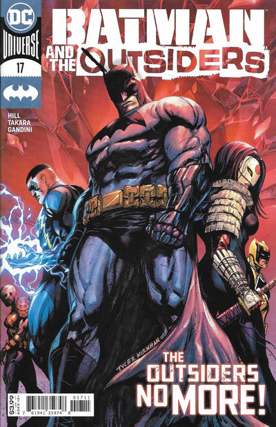 Cover for Batman and the Outsiders (DC, 2019 series) #17