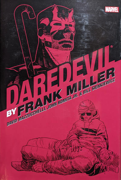 Cover for Daredevil by Frank Miller Omnibus Companion (Marvel, 2007 series)