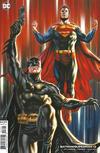 Cover for Batman / Superman (DC, 2019 series) #13 [Mark Brooks Cardstock Variant Cover]