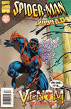 Cover for Spider-Man 2099 (Marvel, 1992 series) #38 [Spider-Man 2099 Cover Newsstand]
