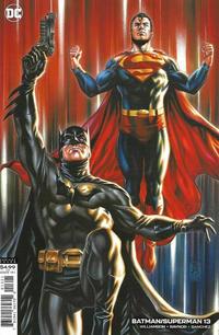 Cover Thumbnail for Batman / Superman (DC, 2019 series) #13 [Mark Brooks Cardstock Variant Cover]
