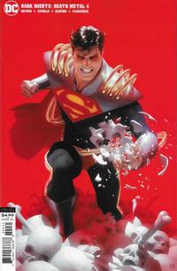 Cover Thumbnail for Dark Nights: Death Metal (DC, 2020 series) #4 [Alex Garner Superboy-Prime Variant Cover]