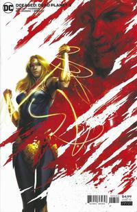 Cover Thumbnail for DCeased: Dead Planet (DC, 2020 series) #3 [Francesco Mattina Cardstock Variant Cover]