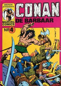 Cover Thumbnail for Conan de barbaar (Oberon, 1979 series) #4