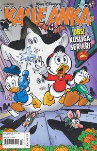 Cover Thumbnail for Kalle Anka & C:o (Egmont, 1997 series) #43/2020