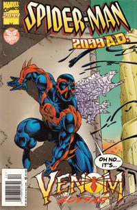 Cover Thumbnail for Spider-Man 2099 (Marvel, 1992 series) #38 [Spider-Man 2099 Cover Newsstand]