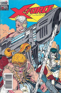 Cover Thumbnail for X-Force (Semic S.A., 1992 series) #6