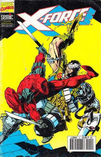 Cover Thumbnail for X-Force (Semic S.A., 1992 series) #9