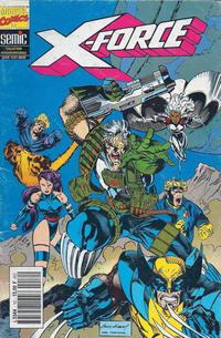 Cover Thumbnail for X-Force (Semic S.A., 1992 series) #10