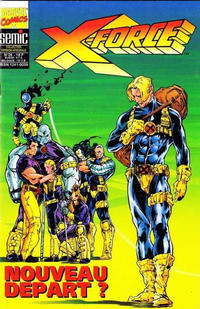 Cover Thumbnail for X-Force (Semic S.A., 1992 series) #26