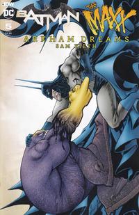 Cover Thumbnail for Batman / The Maxx: Arkham Dreams (IDW, 2018 series) #5 [Cover A]