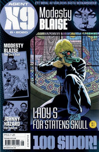 Cover Thumbnail for Agent X9 (Egmont, 1997 series) #8/2020