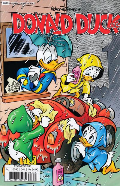 Cover for Donald Duck & Co (Hjemmet / Egmont, 1948 series) #44/2020