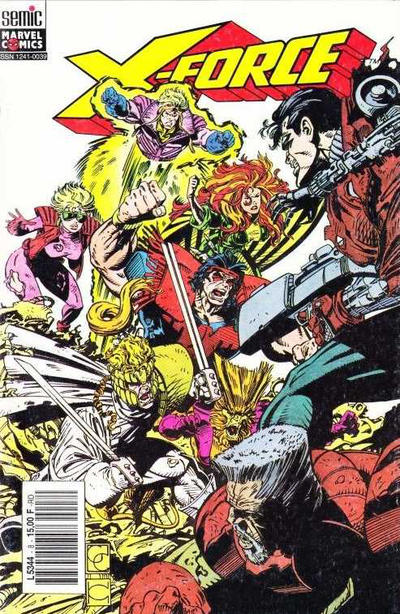 Cover for X-Force (Semic S.A., 1992 series) #8