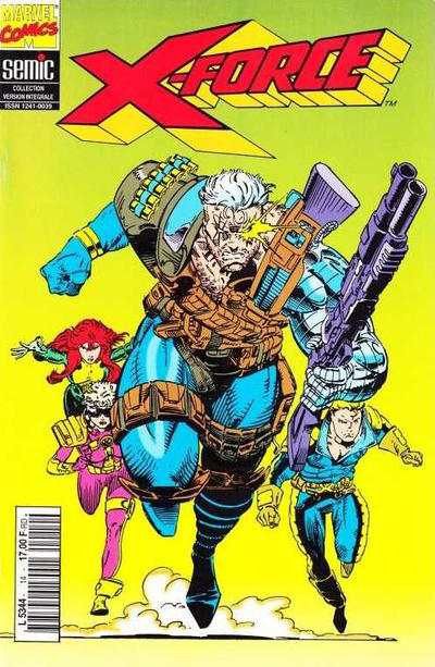 Cover for X-Force (Semic S.A., 1992 series) #14
