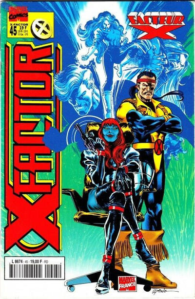 Cover for X-Factor (Panini France, 1997 series) #45