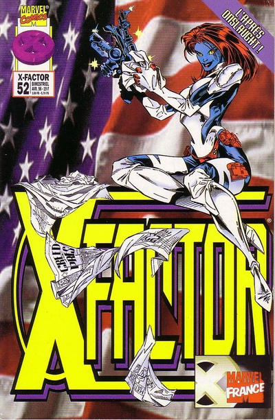 Cover for X-Factor (Panini France, 1997 series) #52