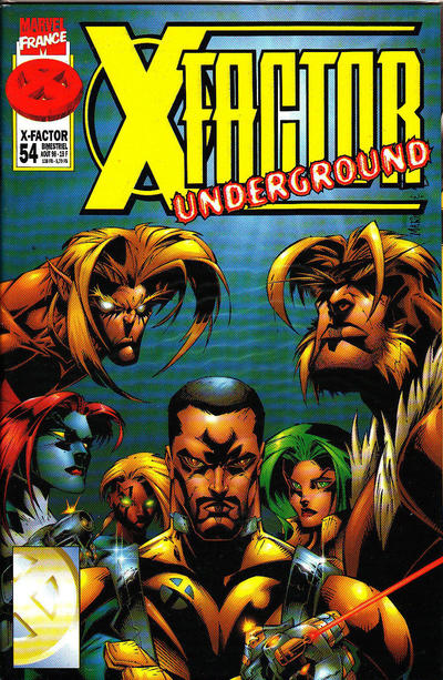 Cover for X-Factor (Panini France, 1997 series) #54